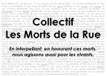 Logo Collectif Les Morts de la Rue