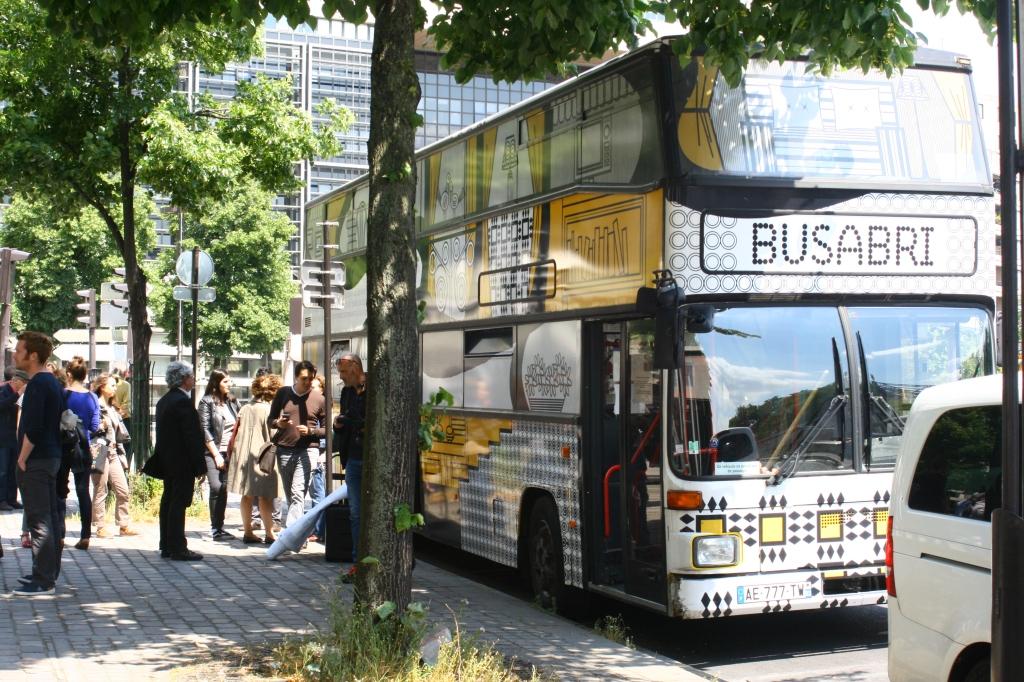 Photo dy 9 juin 2015 devant Bercy CAU Crédit FNARS